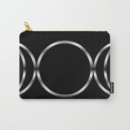 Triple Goddess Symbol Carry-All Pouch