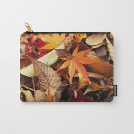 Indian Summer - Colorful Autumn Leaves Carry-All Pouch