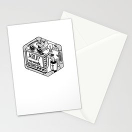 Arup WeWork West Project Patch Stationery Cards