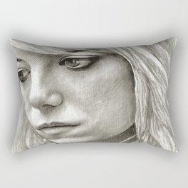 Emma Stone Rectangular Pillow