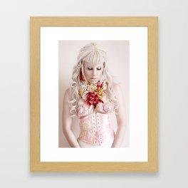 Rosa la Rose Framed Art Print