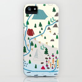 summer camp iPhone Case