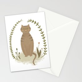 Nature Cat Stationery Cards