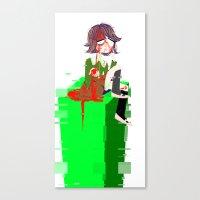 chihiro Canvas Prints featuring Chihiro Fujisaki by hellokittyloli