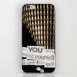 Money for Power Print iPhone Skin