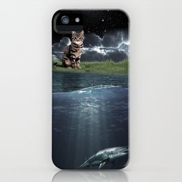 Observing Cat iPhone Case
