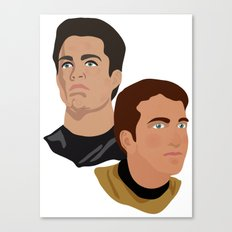 The Two Captains Canvas Print