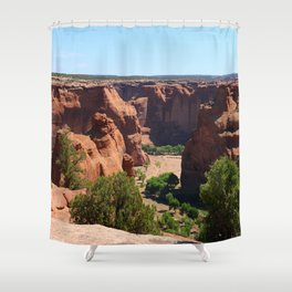 The Beauty of Canyon de Chelly Shower Curtain