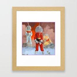 Space Bois Framed Art Print