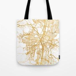 MEDELLÍN COLOMBIA CITY STREET MAP ART Tote Bag