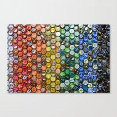 Bottlecap spectrum Canvas Print