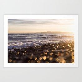 Sunrise Owen Beach, Puget Sound, Washington Art Print