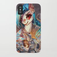 mlp iPhone & iPod Cases featuring MLP: Jinx by Erin Liona