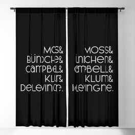 The Top Model List Blackout Curtain