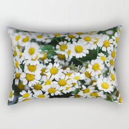 Camomile Wild Flowers Rectangular Pillow