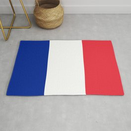 Flag of France, Authentic color & scale Rug