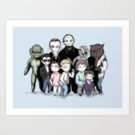 Monster Squad Art Print