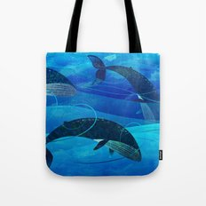 Tropical waters Tote Bag