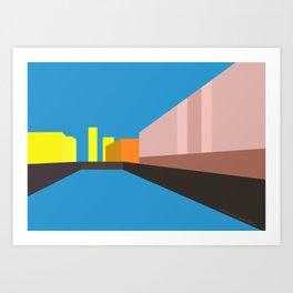 Berlin Perspectives - Palast der Republik Art Print