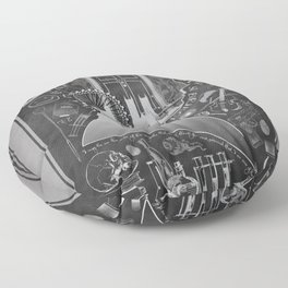 What is it Like in Your Funny Little Brains? Floor Pillow