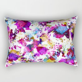 X-Ray Blooms Rectangular Pillow