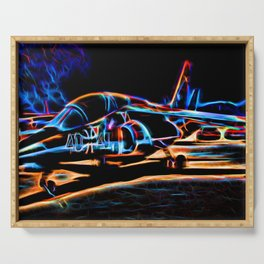 Neon Jet Serving Tray