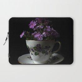 Botanical Tea Cup Laptop Sleeve