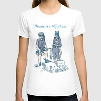moonrise T-shirts featuring Moonrise Gotham by Ramon Villalobos