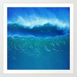 Rogue Waves in Ocean Surf Art Print