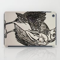 wesley bird iPad Cases featuring Bird by Ming Myaskovsky