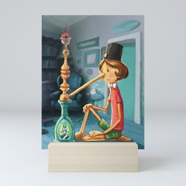 Pinocchio Mini Art Print