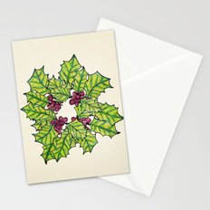 Deck The Halls Stationery Cards