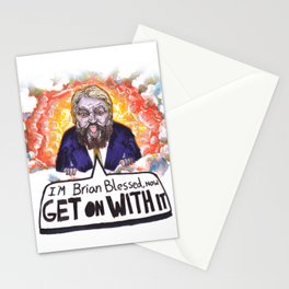 Brian Blessed God Stationery Cards