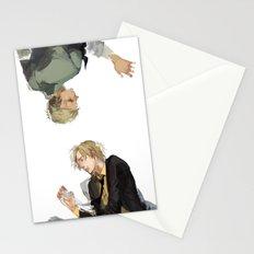 Zoro and Sanji Stationery Cards