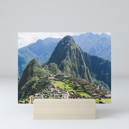 Machu Picchu Sunrise Mini Art Print