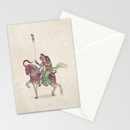 Indian Knight Stationery Cards