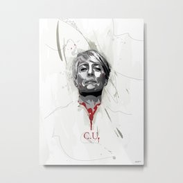 House of Cards - Claire Underwood Metal Print