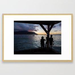 Kauai Kids Framed Art Print
