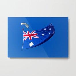 Avalon Airshow - Australian Flag 3 Metal Print