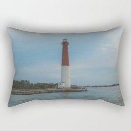 Barnegat Lighthouse Rectangular Pillow