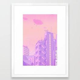 Tokyo Valentine Framed Art Print