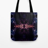 all seeing eye Tote Bags featuring The all seeing eye by PLdesign