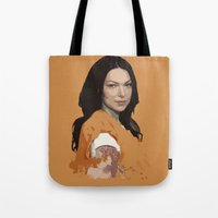 alex vause Tote Bags featuring Vause Ass Bitch. by Fashionable