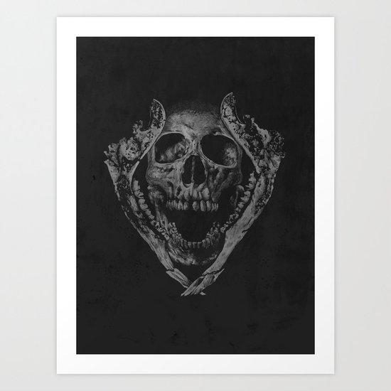 Jawz Art Print