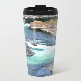 River's Edge Metal Travel Mug