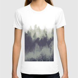 Mountain Forest Abstract T-shirt