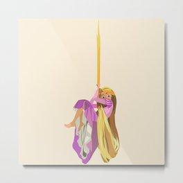 Rapunzel: Almost free Metal Print
