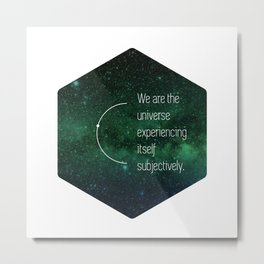 We are the universe Metal Print