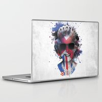 carnage Laptop & iPad Skins featuring Queen Listen Music by Sitchko Igor
