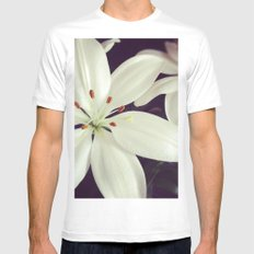 lilys White MEDIUM Mens Fitted Tee